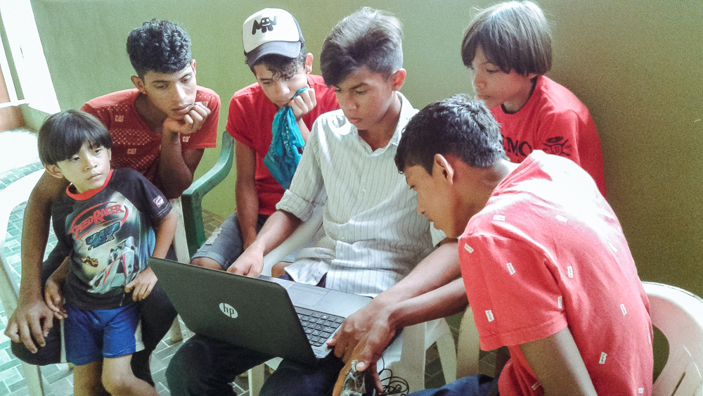 Digital Reflection Project Group in Nicaragua