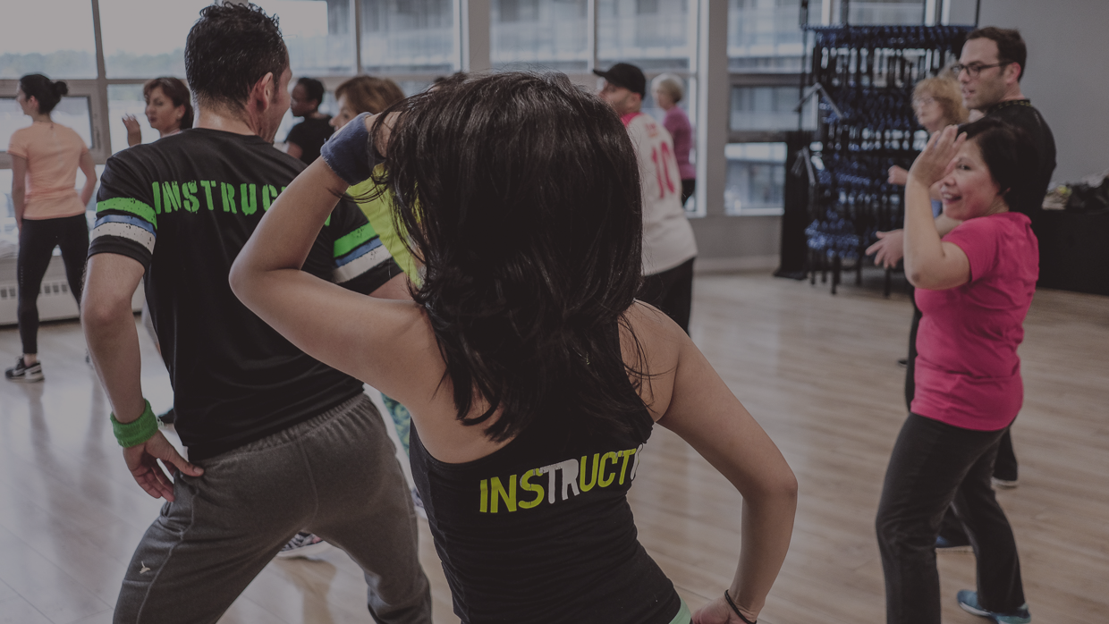 Toronto Zumba Class with Edgar Uribe and Andrea Jimenez